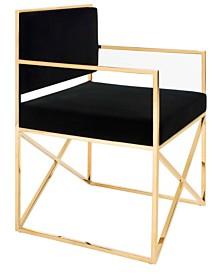 Kian Velvet Director's Chair, Quick Ship