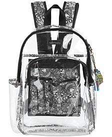 Sakroots Clear Festival Backpack