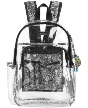 Image of Sakroots Clear Festival Backpack