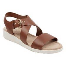 Easy Spirit Helix Flat Sandals