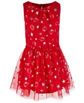 e4b875a0bd657 Hello Kitty Little Girls Foil-Print Mesh Dress, Created for Macy's
