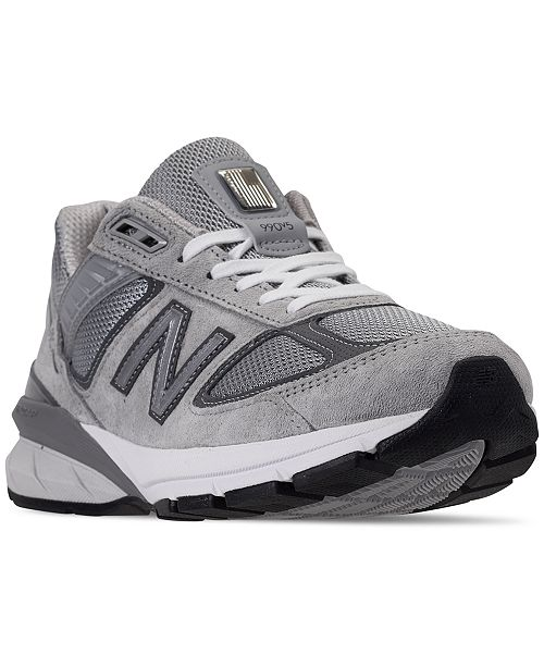 official photos 7fea6 87b10 ... New Balance Women s 990 V5 Running Sneakers from Finish ...