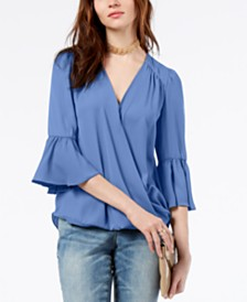 b2055015fb955 INC International Concepts Womens Tops - Macy s