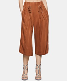 BCBGeneration Pleated Cropped Pants