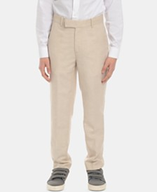 Calvin Klein Big Boys Slim-Fit Suit Pants