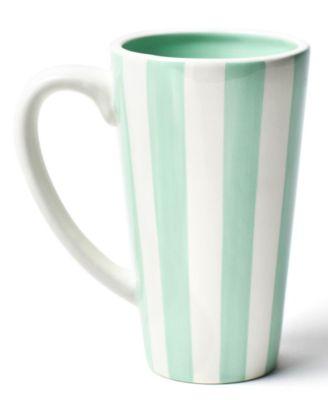 by Laura Johnson Mint Stripe Mug