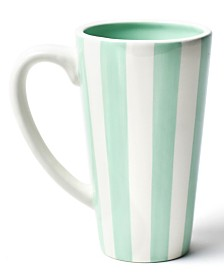 Coton Colors Mint Stripe Mug