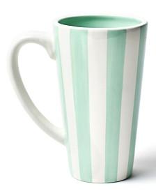 Coton Colors Mint Stripe Mug