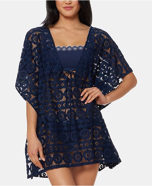 Jessica Simpson Border Cover-Up Dress