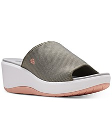 Women's Cloudsteppers Step Cali Bay Slide Sandals