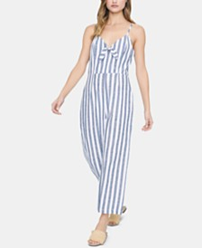 Sanctuary Take Away Striped Jumpsuit