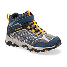 Toddler, Little & Big Boys Moab FST Mid A/C Waterproof Hiking Boot