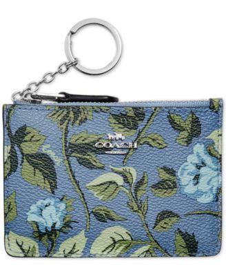 Floral Mini Skinny ID Wallet