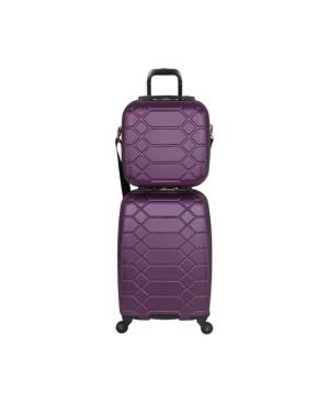 Image of Aimee Kestenberg Diamond 2-pc Carry-On Luggage Set