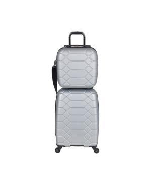 Aimee Kestenberg Diamond 2-pc Carry-On Luggage Set