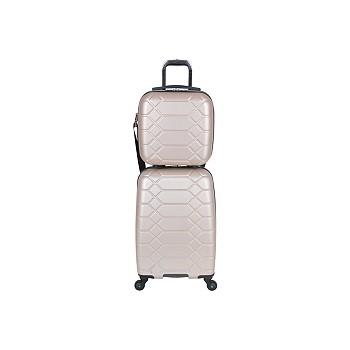 Aimee Kestenberg Diamond 2-Piece Carry-On Luggage Set