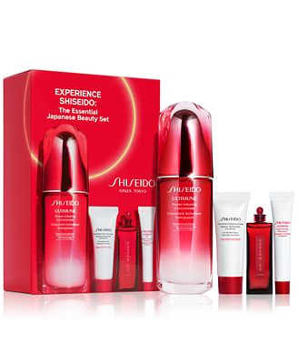 Shiseido 4-Pc. Experience Shiseido: The Essential Japanese Beauty Set, Created for Macy's