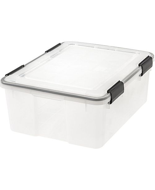 IRIS USA Iris 30 Quart Weather tight Storage Box