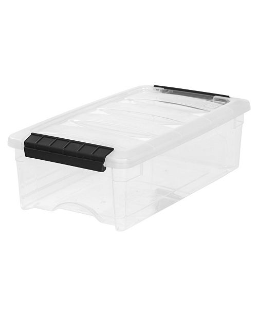IRIS USA Iris 5 Quart Stack and Pull Box