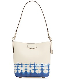 DKNY Sullivan Leather Bucket Bag, Created for Macy's