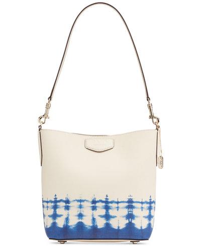 DKNY Sullivan Leather Bucket Bag, Created for Macy's