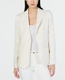 Weekend Max Mara Omero Linen & Cotton Jacket
