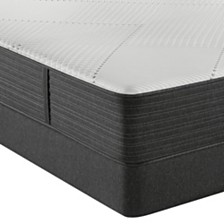 "Beautyrest Hybrid BRX1000-IP 13.5"" Plush Mattress Set - Queen Split"