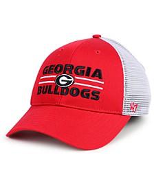 Georgia Bulldogs Dual Line Snapback Cap