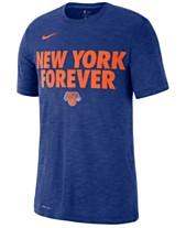 1b06ab3c6a8 Nike Men s New York Knicks Team Essential Local Slogan Slub T-Shirt
