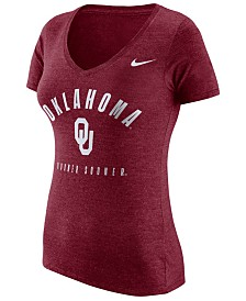Nike Oklahoma Sooners 2019 NCAA Women's Tri-Blend T-Shirt
