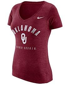 Nike Oklahoma Sooners 2019 NCAA Women's Tri-Blend T-Shirt