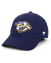 check out 7e244 fa94a Authentic NHL Headwear Nashville Predators Basic Flex Stretch Fitted Cap