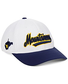 Top of the World West Virginia Mountaineers Tailsweep Flex Stretch Fitted Cap