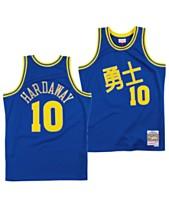 buy online dc6fd b462c Mitchell   Ness Men s Tim Hardaway Golden State Warriors Chinese New Year  Swingman Jersey