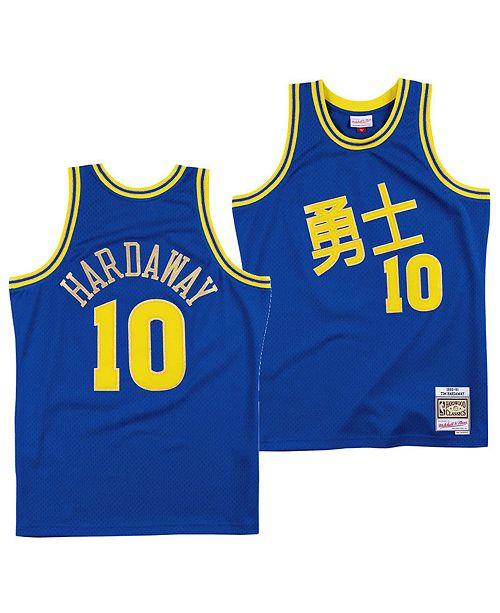 save off 9ae93 55d1b Men's Tim Hardaway Golden State Warriors Chinese New Year Swingman Jersey
