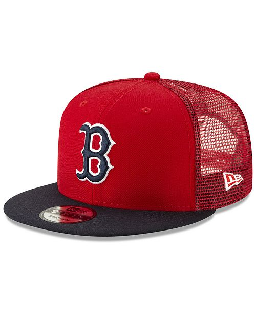 outlet store 459f6 57555 ... New Era Boston Red Sox Coop All Day Mesh Back 9FIFTY Snapback Cap ...