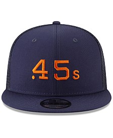 New Era Houston Colt 45s Coop All Day Mesh Back 9FIFTY Snapback Cap