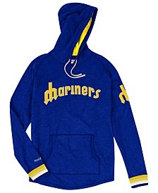 Mitchell & Ness Men's Seattle Mariners Midweight Appliqué Hoodie