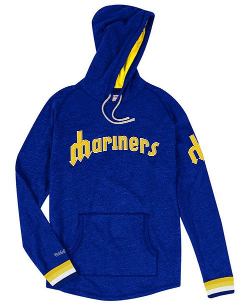 online store 635ff 61a6a Men's Seattle Mariners Midweight Appliqué Hoodie