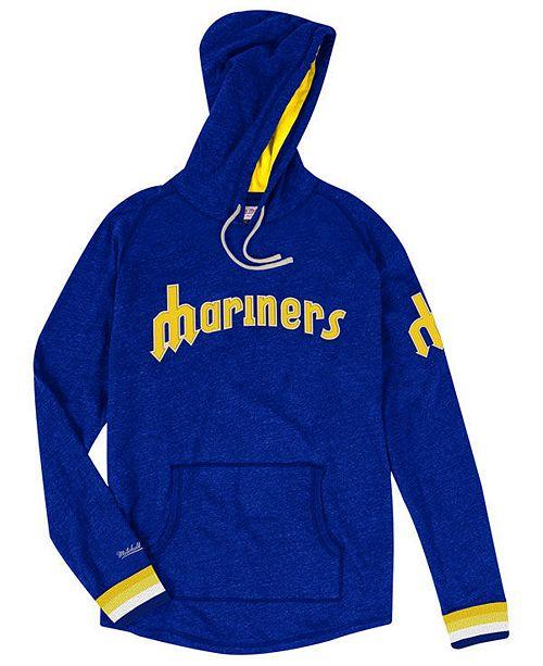 online store c5e6c 8ecc0 Men's Seattle Mariners Midweight Appliqué Hoodie