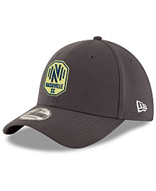 New Era Nashville SC Team Classic 39THIRTY Stretch Fitted Cap