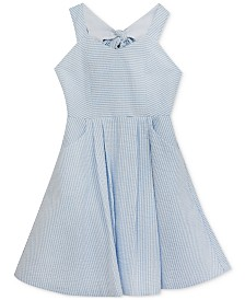Rare Editions Toddler Girls Striped Seersucker Dress