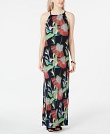 Trina Trina Turk Floral-Print Maxi Dress