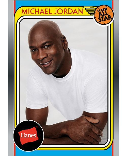 b1626998c45 Hanes Michael Jordan Trading Card & Reviews - All Accessories - Men ...