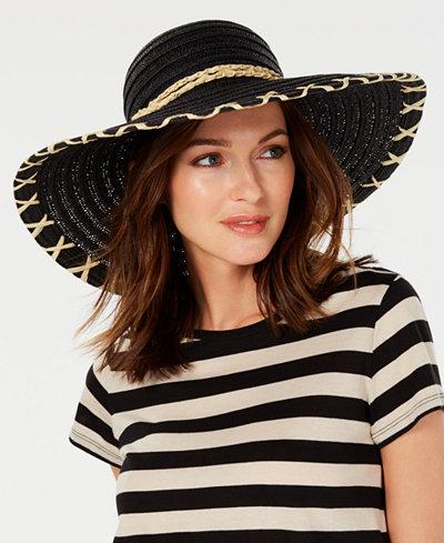 Calvin Klein Whipstitch Sun Hat