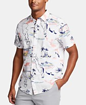 d422efbb Nautica Men's Tropical Graphic Shirt, Created for Macy's