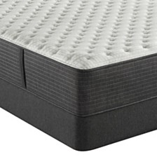 "Beautyrest Silver BRS900-C-TSS 13.75"" Extra Firm Mattress Set - Queen Split, Created For Macy's"