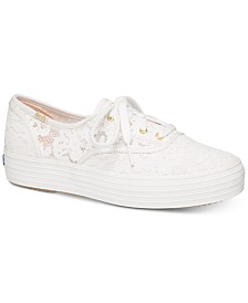 Keds Women's Triple Painted Crochet Sneakers