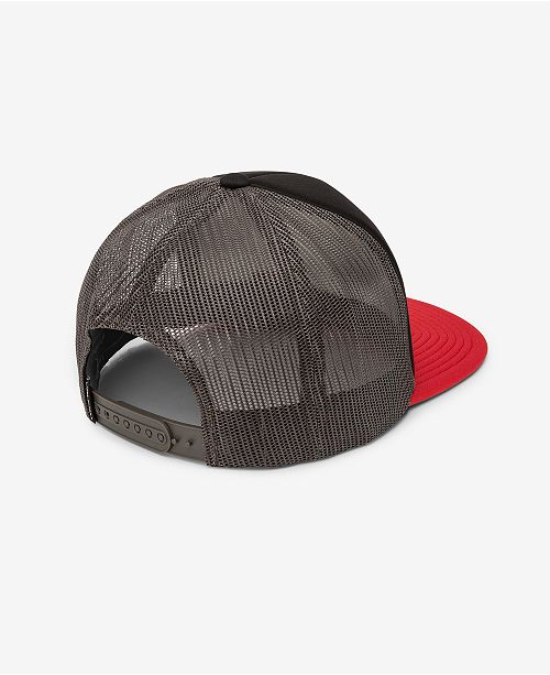 378bdbf45bf6b ... Trucker Hat  Volcom Men s Full Frontal Cheese Graphic-Print Logo Trucker  ...