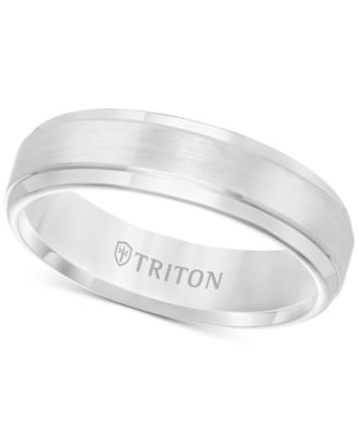 Jewelry & Watches Titanium Wedding Band Men's Ring Dome Matte Bridal Jewelry Brushed Size 6-13